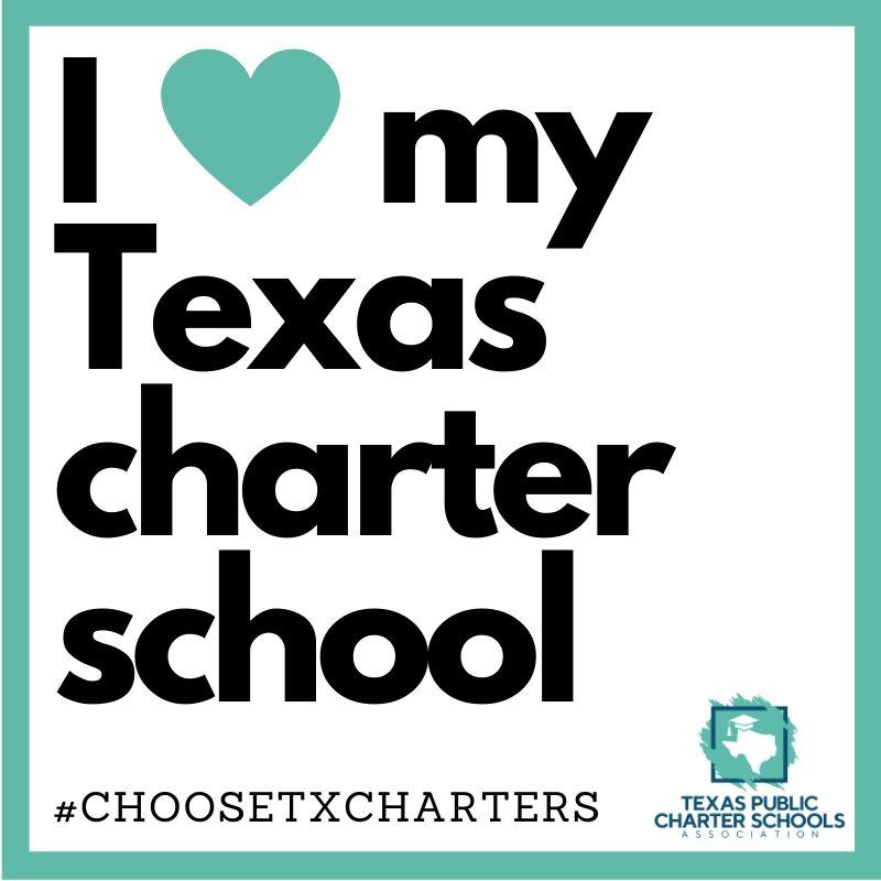 I <3 my Texas charter school